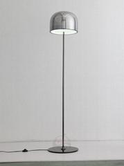 輕奢后現代設計師玻璃罩落地燈客廳臥室書房LED地燈 BM-3040F