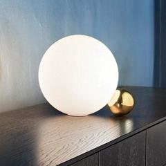 北歐創意簡約玻璃溫馨小臺燈客廳臥室床頭圓球裝飾燈 BM-2068T