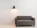 Modern minimalist staircase aisle wall