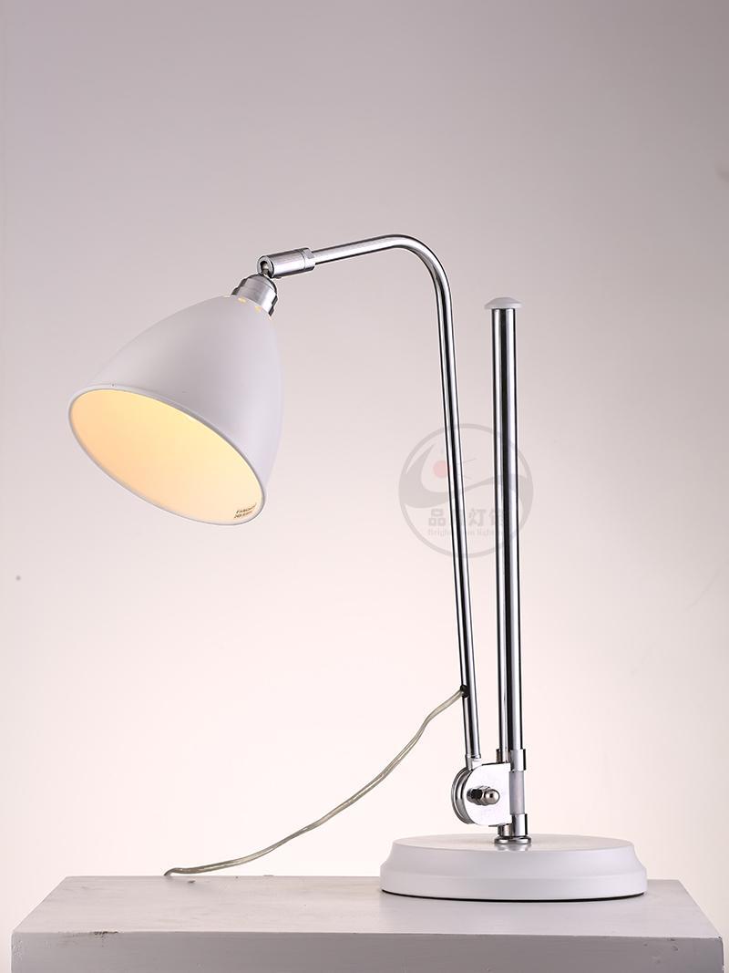 設計師臺燈簡約現代書房臥室辦公室樣板間可調節臺燈 BM-3061T B 1