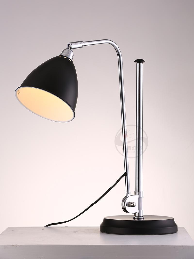 設計師臺燈簡約現代書房臥室辦公室樣板間可調節臺燈 BM-3061T B 2