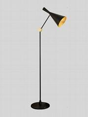 美式简约创意展厅客厅落地灯后现代书房卧室灯 BM-3068F