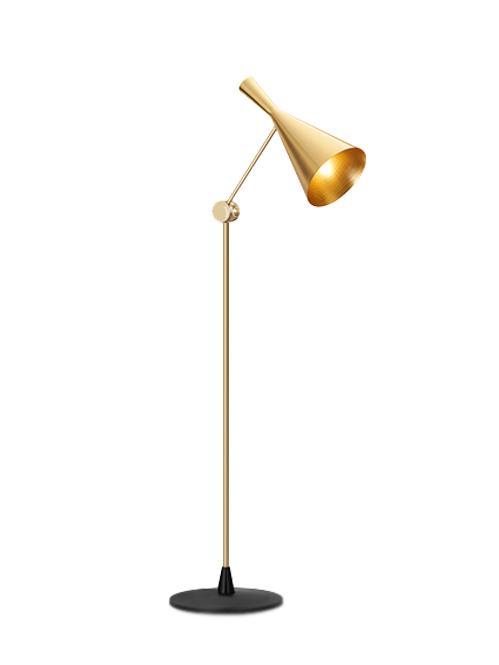 American minimalist study Lobby floor lamp 2