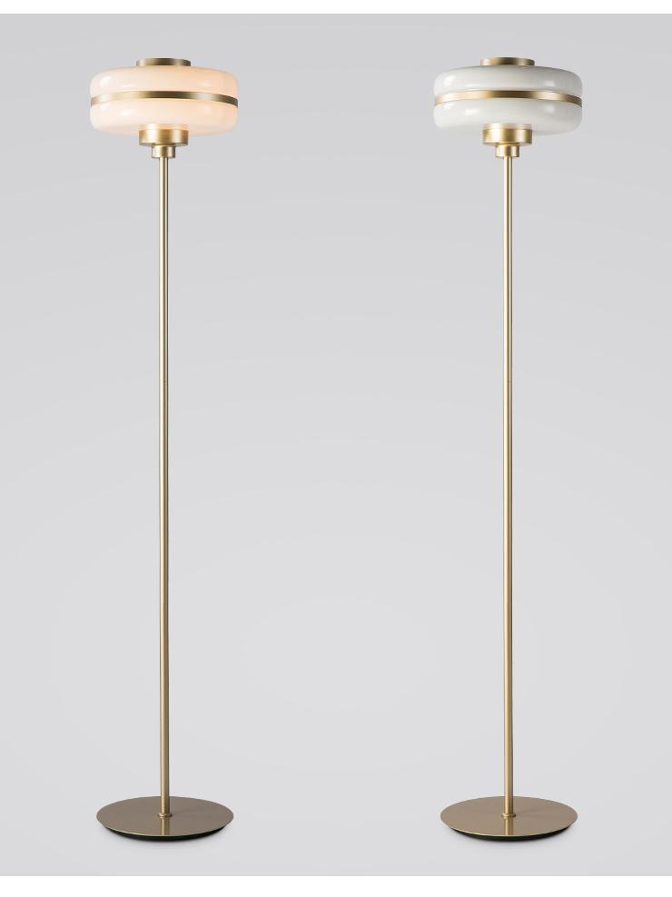 Light luxury bedroom floor lamp 1