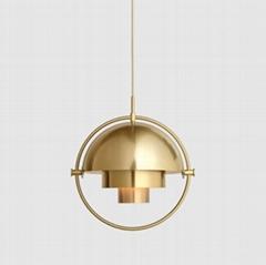 北歐餐廳后現代簡約輕奢吧台餐桌個性創意單頭吊燈 BM-3074P