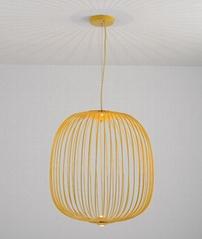 后現代吊燈簡約創意鳥籠吊燈設計師燈具辦公室餐廳燈 BM-4231
