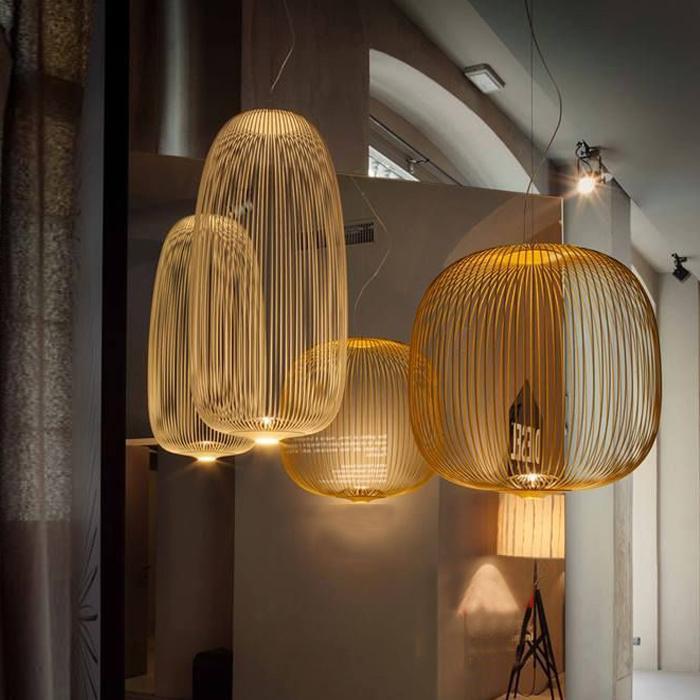 后現代吊燈簡約創意鳥籠吊燈設計師燈具辦公室餐廳燈 BM-4231 5