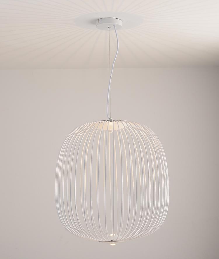 后現代吊燈簡約創意鳥籠吊燈設計師燈具辦公室餐廳燈 BM-4231 4