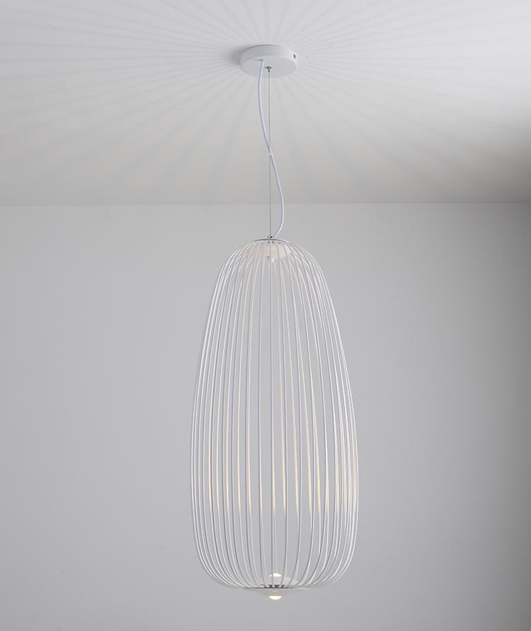 后現代吊燈簡約創意鳥籠吊燈設計師燈具辦公室餐廳燈 BM-4231 3