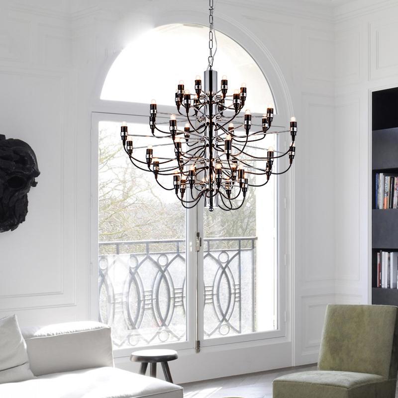 Modern hotel living room chandelier 2