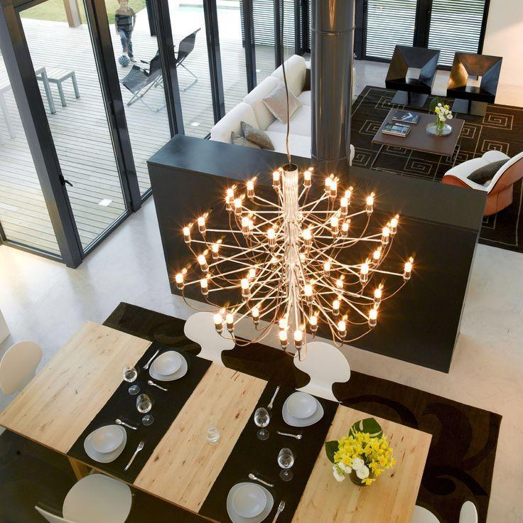 Modern hotel living room chandelier 3