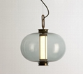 Stylish and simple glass chandelier 4