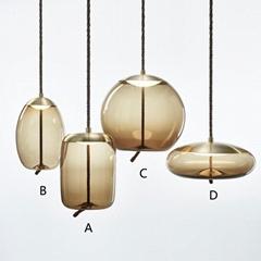 后现代卧室床头小吊灯北欧个性创意客厅餐厅吧台服装店吊灯 BM-5001