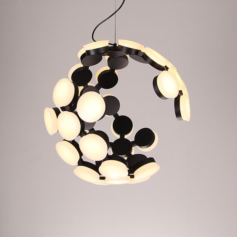 Creative restaurant round chandelier 1