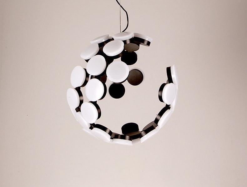 Creative restaurant round chandelier 3