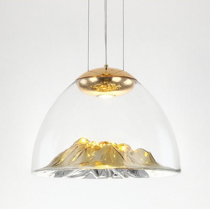 后現代輕奢設計師吊燈創意山景別墅餐廳燈具 2