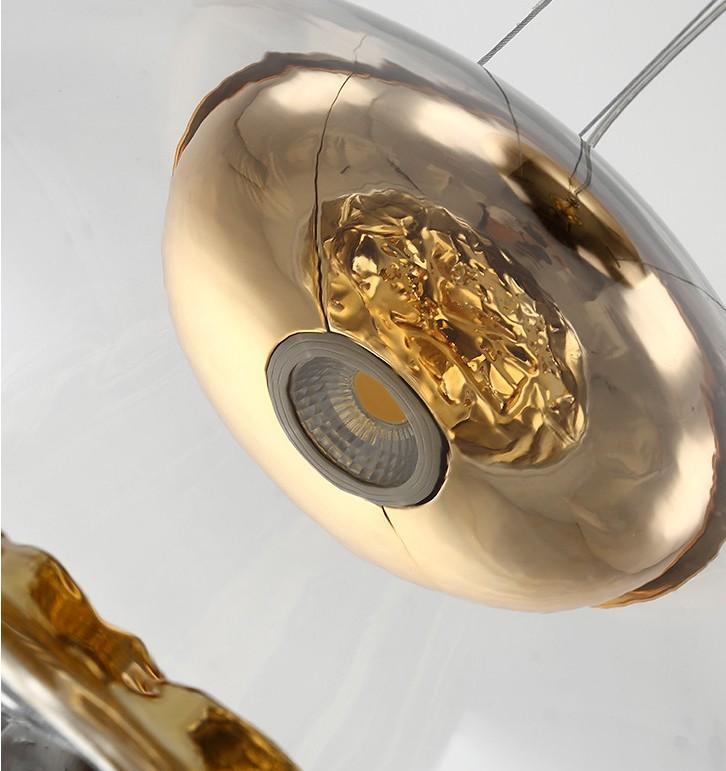 后現代輕奢設計師吊燈創意山景別墅餐廳燈具 5