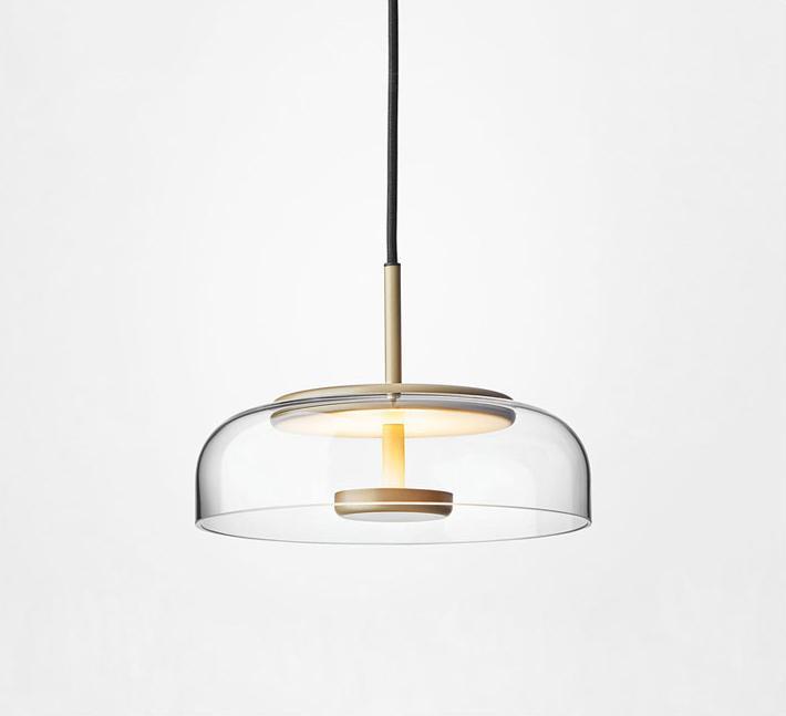 北歐裝飾燈具玻璃后現代輕奢餐廳餐桌茶室小吊燈 BM-3042P 1