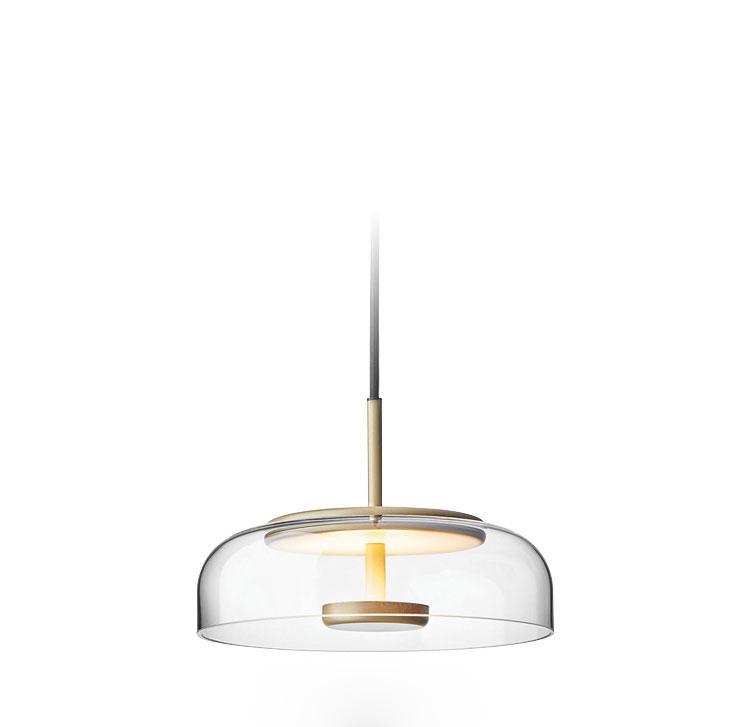 北歐裝飾燈具玻璃后現代輕奢餐廳餐桌茶室小吊燈 BM-3042P 2