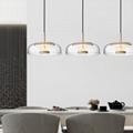 北歐裝飾燈具玻璃后現代輕奢餐廳餐桌茶室小吊燈 BM-3042P 3
