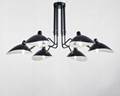 北欧摇臂灯简约复古工业风客厅张牙舞爪吸顶灯 BM-3026W-1 2