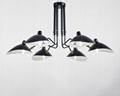 北歐搖臂燈簡約復古工業風客廳張牙舞爪吸頂燈 BM-3026W-1 2