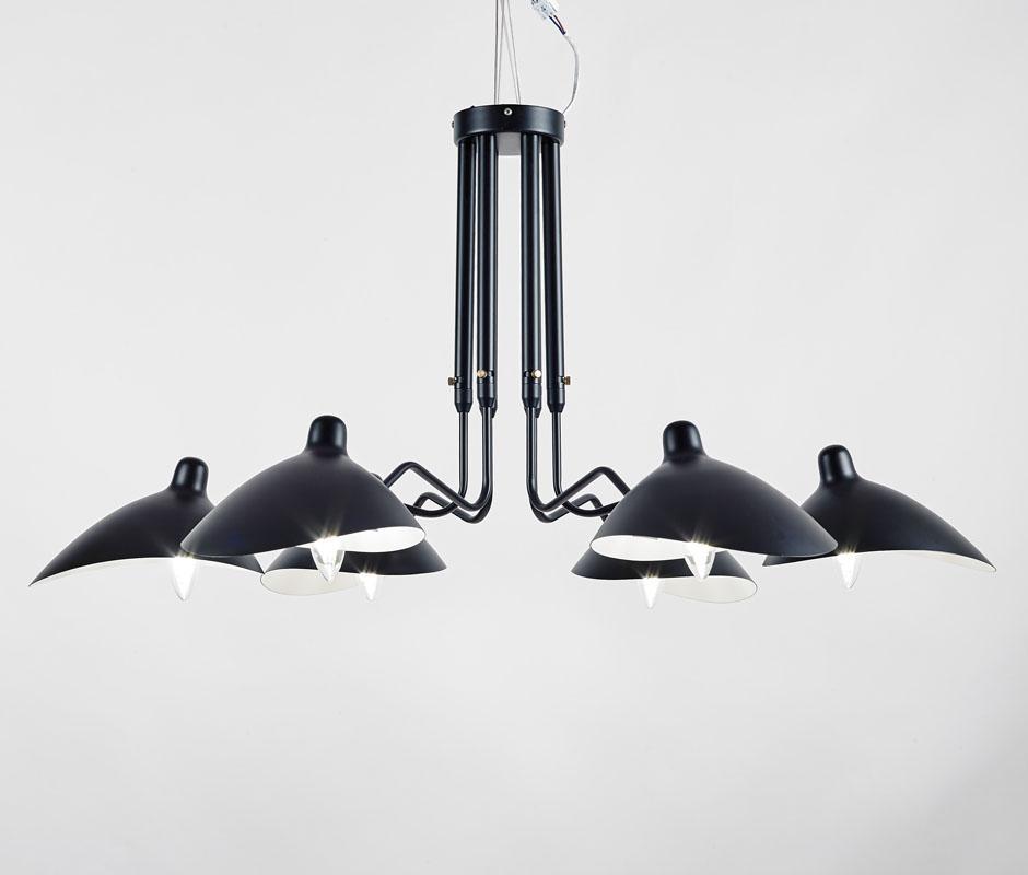 北欧摇臂灯简约复古工业风客厅张牙舞爪吸顶灯 BM-3026W-1 1