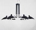 Decorative Serge Mouille Ceiling Light