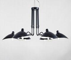 北歐搖臂燈簡約復古工業風客廳張牙舞爪吸頂燈 BM-3026W-1
