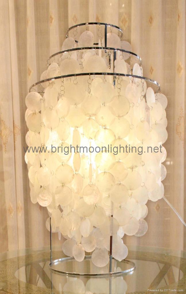 室内 现代 简约 天然贝壳 装饰 台灯 BM-2088 1