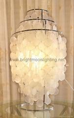 室内 现代 简约 天然贝壳 装饰 台灯 BM-2088