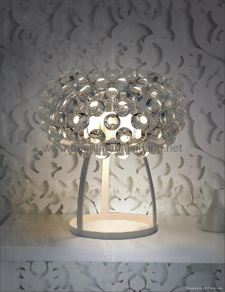 透明 亞克力 寶石 臺燈 BM-3018T-S 1