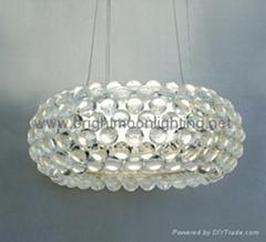 現代經典亞克力寶石吊燈 BM-3018P-M