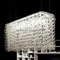 Glass Pendant Light BM-3028P-5