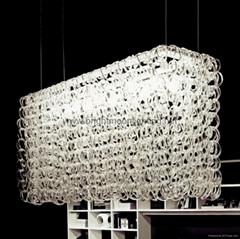 玻璃弔燈 BM-3028P-5