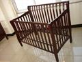Bend Wood Baby Crib