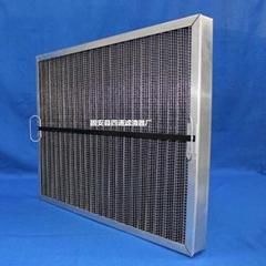三星離心機空氣濾芯鋁合金板框式風格