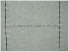 Localized Watermark Paper
