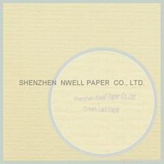 Cream Laid Paper