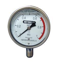 YBF系列耐震不锈钢压力表 1
