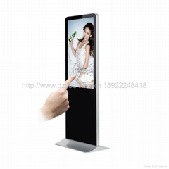 Bluetooth touch advertising player