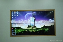 Golden LCD Video Wall