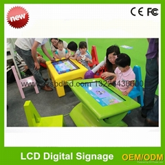 22 '' children touch game learning table