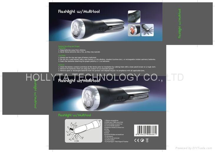 多功能工具手電筒HC-818A 4