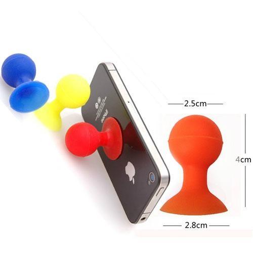 硅膠章魚手機支架 2