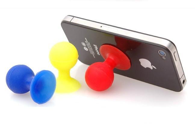 硅膠章魚手機支架 3