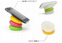 鹅卵石手机支架
