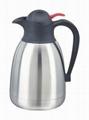 不锈钢真空咖啡壶 4