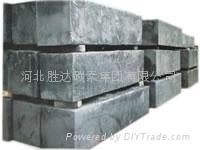 石墨化方電極