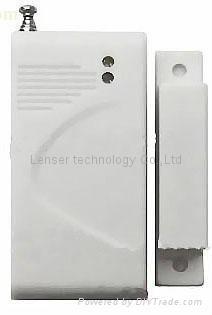 Wireless Door Window Magnetic Contact Detector for Home Alarm System 1